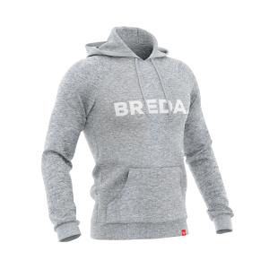 Hoodie Breda grey